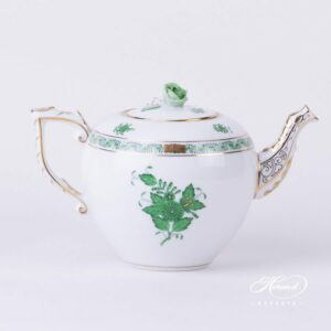 Apponyi Green / Chinese Bouquet - Tea Pot 604-0-09 AV