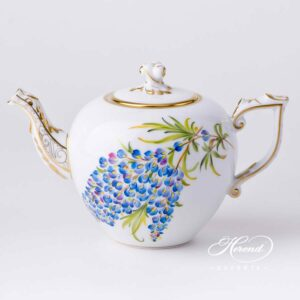 Tea Pot - Texas Bluebonnet