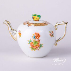 Tea Pot - Anniversary Queen Victoria