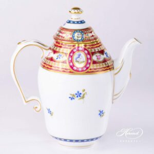 Coffee Pot - Silk Brocade