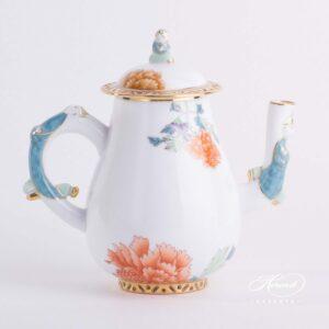 Coffee Pot - Pink Peony