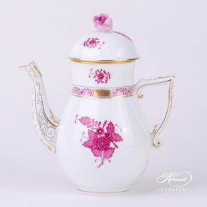 Coffee Pot - Chinese Bouquet / Apponyi Purple