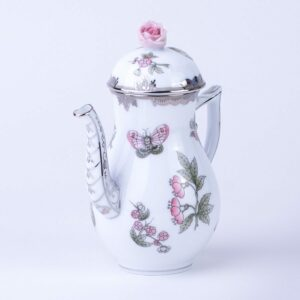 Coffee Pot - Queen Victoria Platinum