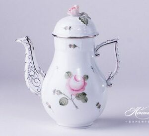 Coffee Pot - Vienna Rose Platinum