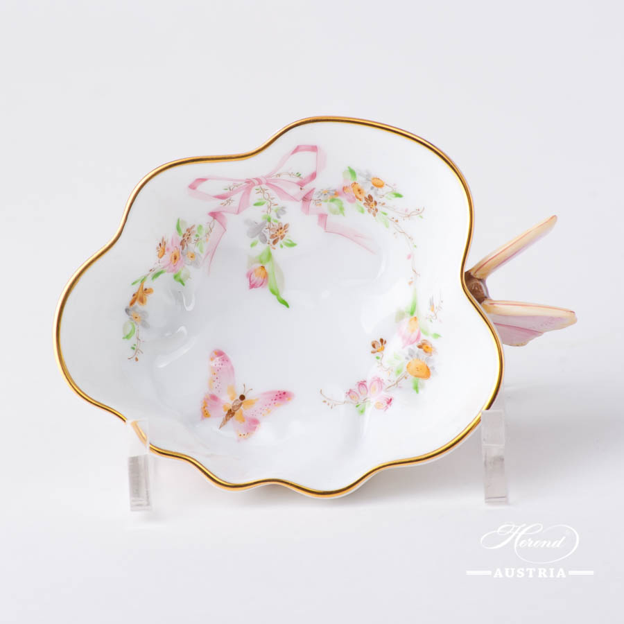 Herend - Sugar Bowl w. Butterfly Handle 2492-0-17  EDENP design. Herend fine china