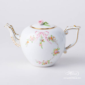 Eden Pink - Tea Pot w. Rose Knob