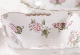 Herend porcelain Victoria Platinum Salad bowl