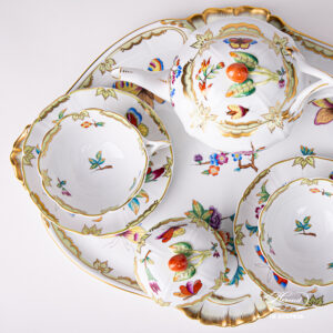 Tea Set for Two Person – Old Queen VICTORIA – Special